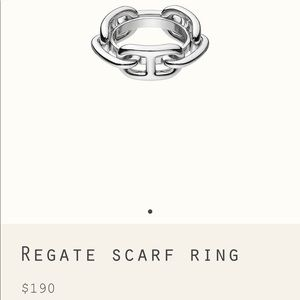 Hermès Regate Scarf Ring